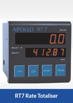 apollo RT7 rate totaliser flocare