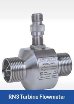 apollo rn3 turbine flowmeter flocare