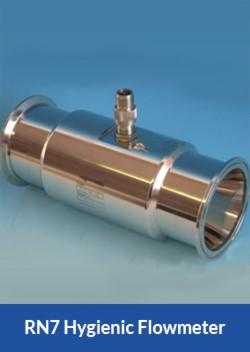 apollo rn7 hygienic flowmeter flocare