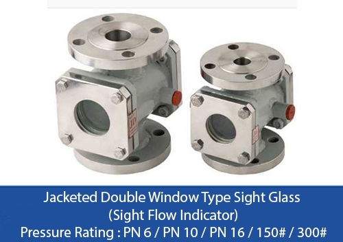 jacketed-double-window-type-sight-glass - Flocare
